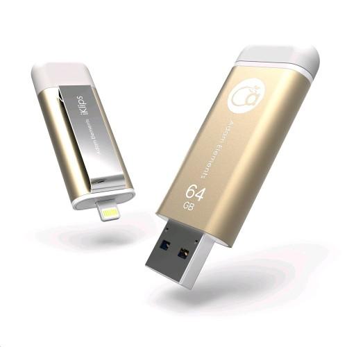 64gb Adam Elements Iklips Apple Lightning Usb 3 0 Flash