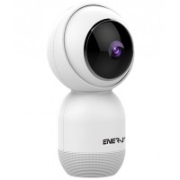 Ener-J Smart Wifi Security Camera with 360° Motion Tracking