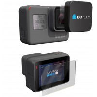 GoPole Lens + LCD Protection Kit / Covers for GoPro Hero 5 / Hero 6 / Hero 7