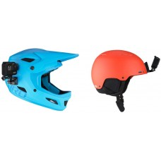 GoPro Helmet Front + Side Mount for Action Cameras
