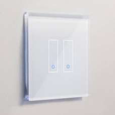 Iotty Smart Light Switch in White (Double)