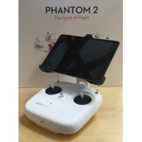 Apple iPad 2 or iPad 3 FPV Mount for DJI Phantom FC40 / Phantom 2 Vision or Vision+ Quadcopter Transmitter