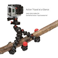 Joby GorillaPod Action Tripod with GoPro Hero Mount - JB01300-BWW