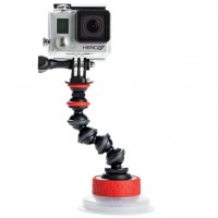 Joby Suction Cup & GorillaPod Arm for GoPro Hero Camera - JB01329-BWW