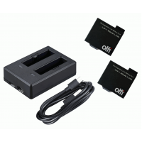 OLFI One.Five Batteries with USB Dual Battery Charger