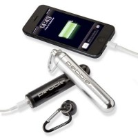 Pebble Smartstick+ 2800mAh Mobile / GoPro USB Battery Charger VPP-004-PB in Black or Silver