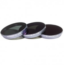 Polar Pro ND Neutral Density Filters for DJI Inspire 1 X3 Camera - 3 Pack (Cinema Series)