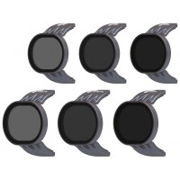 Polar Pro Neutral Density Filters for DJI Spark Filters - 6 Pack