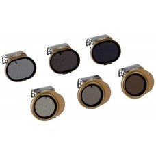 Polar Pro Cinema Series Neutral Density Filters - SHUTTER / VIVID Collection for DJI Spark (6 Pack)