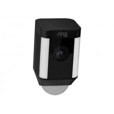 Ring Spotlight Cam (Wired) - Black