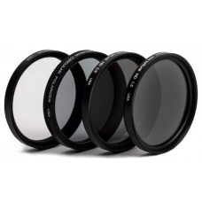 Tiffen ND Filter Kit for DJI Inspire 2 X7, X5R, X5S and X5 - Aperture Kit (4 Pack)