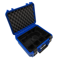 Tom Case Waterproof Drone Case for DJI Mavic 2 with Smart Controller (Blue)