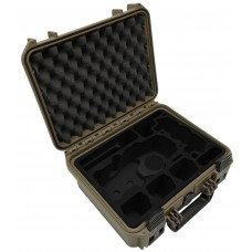 Tom Case Waterproof Drone Case for DJI Mavic 2 with Smart Controller (Sahara)