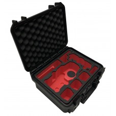 Tom Case Waterproof Drone Case - Travel Edition for DJI Mavic 2 (Black/Red)