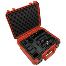 Tom Case Waterproof Drone Case - Travel Edition Plus (Orange) for DJI Mavic Air