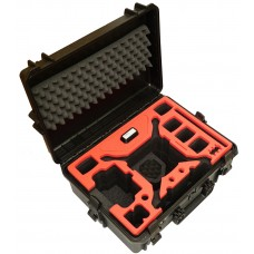 Tom Case Waterproof Drone Case with Tablet Holder for DJI Phantom 4 Series (Black/Red)