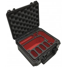 Tom Case Waterproof Drone Case - Compact (Black/Red) for DJI Mavic Air