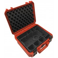 Tom Case Waterproof Drone Case for DJI Mavic 2 with Smart Controller (Orange)