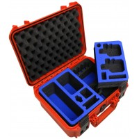 Tom Case Waterproof Case - Travel Edition for GoPro Hero Cameras - Orange