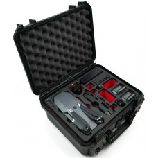 Tom Case Waterproof Drone Case - Travel Edition for DJI Mavic Pro (Black/Red)