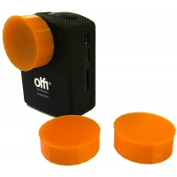 Vulcan Gear Lens Protectors for OLFI One.Five Camera - 3 Pack (Hi Vis Orange)