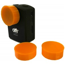 Vulcan Gear Lens Protectors for OLFI One.Five Camera - 3 Pack (Hi Vis Orange)